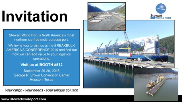 Invitation for Breakbulk Americas